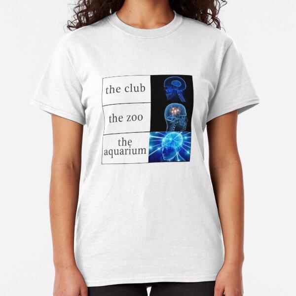 The Club vs The Zoo vs The Aquarium Classic T-Shirt