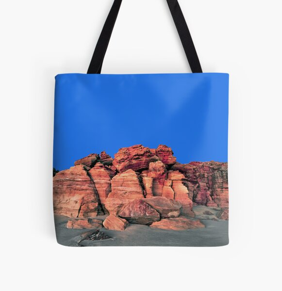 Red Cliffs Evening, Cape Leveque All Over Print Tote Bag