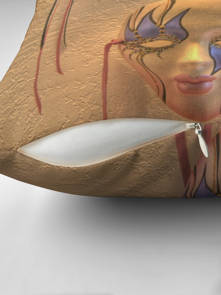 Alternate view of Masquerade Throw Pillow