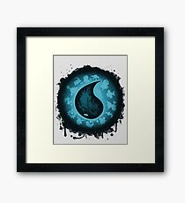 The Water Types Framed Print