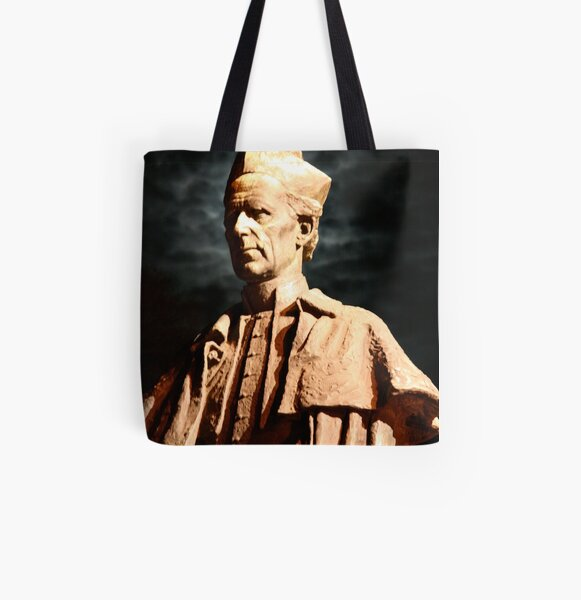 Archbishop Mannix - St Patrick's Cathedral Melbourne All Over Print Tote Bag