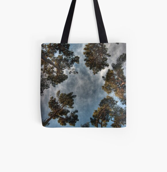 Can't See the Forest... All Over Print Tote Bag