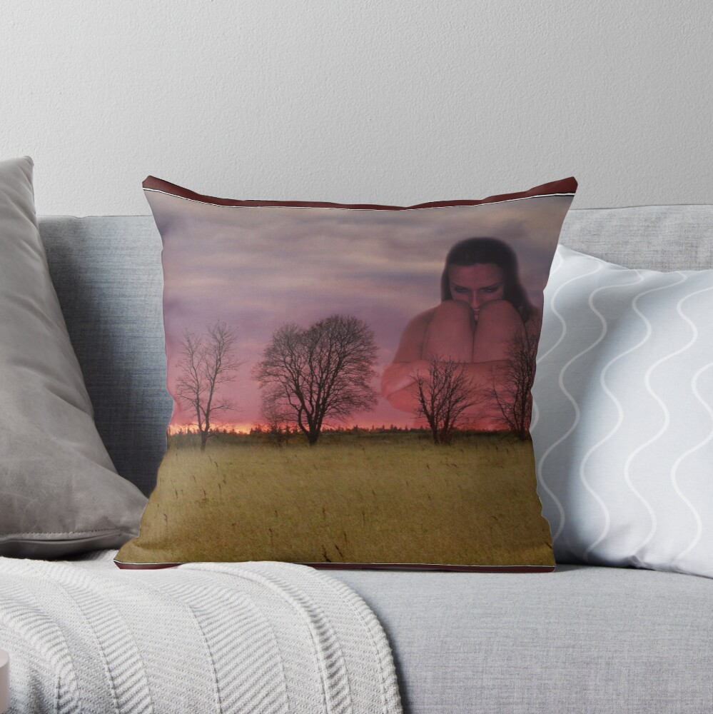 Speak with me... Throw Pillow