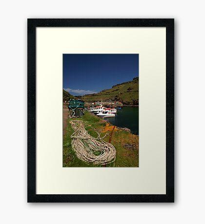 Boscastle Harbour Framed Print