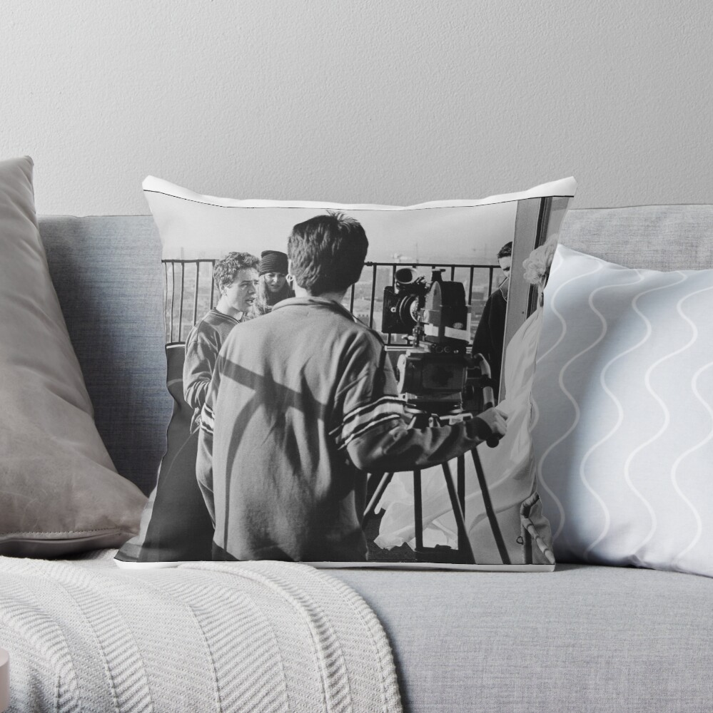 Marilyn in the movies Throw Pillow