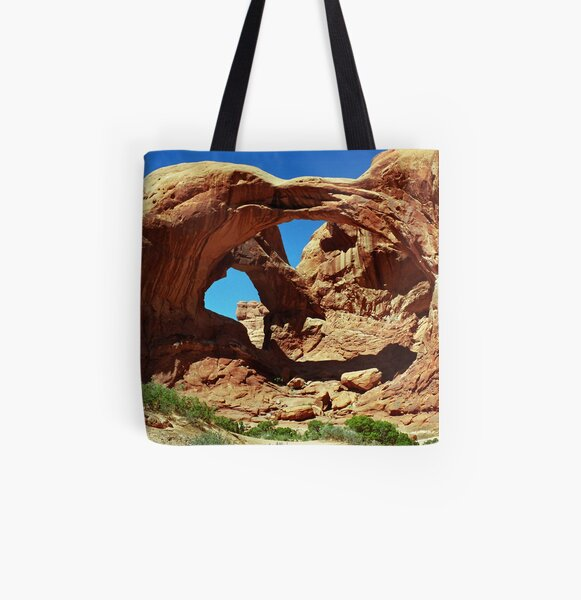 Double Arch All Over Print Tote Bag