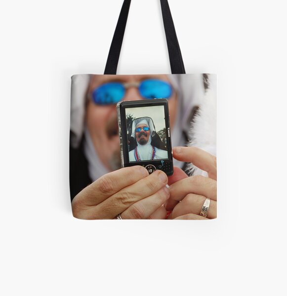 Picture Me All Over Print Tote Bag