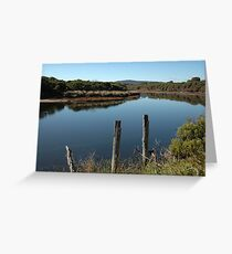 On Reflection - Curries River Greeting Card