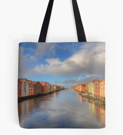 Hint of a Rainbow Tote Bag