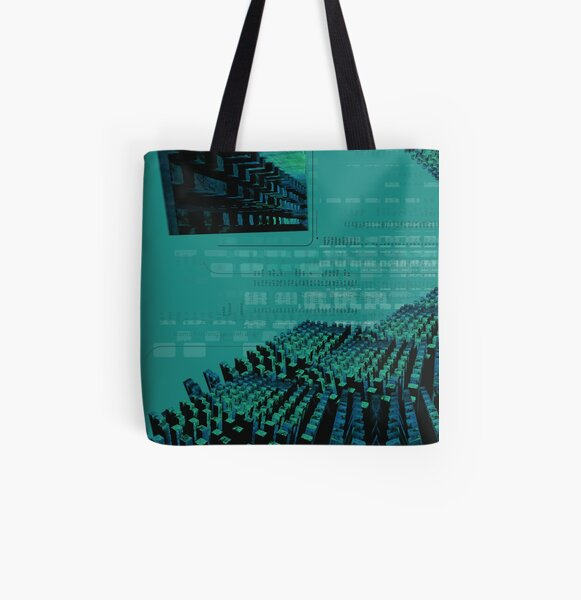 Worldcraft All Over Print Tote Bag