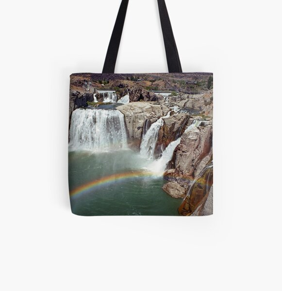 Shoshone Falls Idaho All Over Print Tote Bag