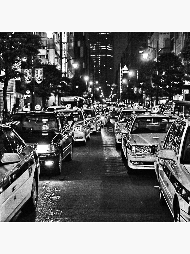 Tokyo Taxis by sparrowhawk