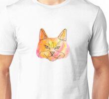 Warm Watercolor Kitty Unisex T-Shirt