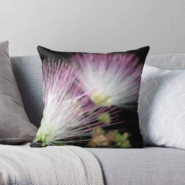 Midnight Mimosa Throw Pillow
