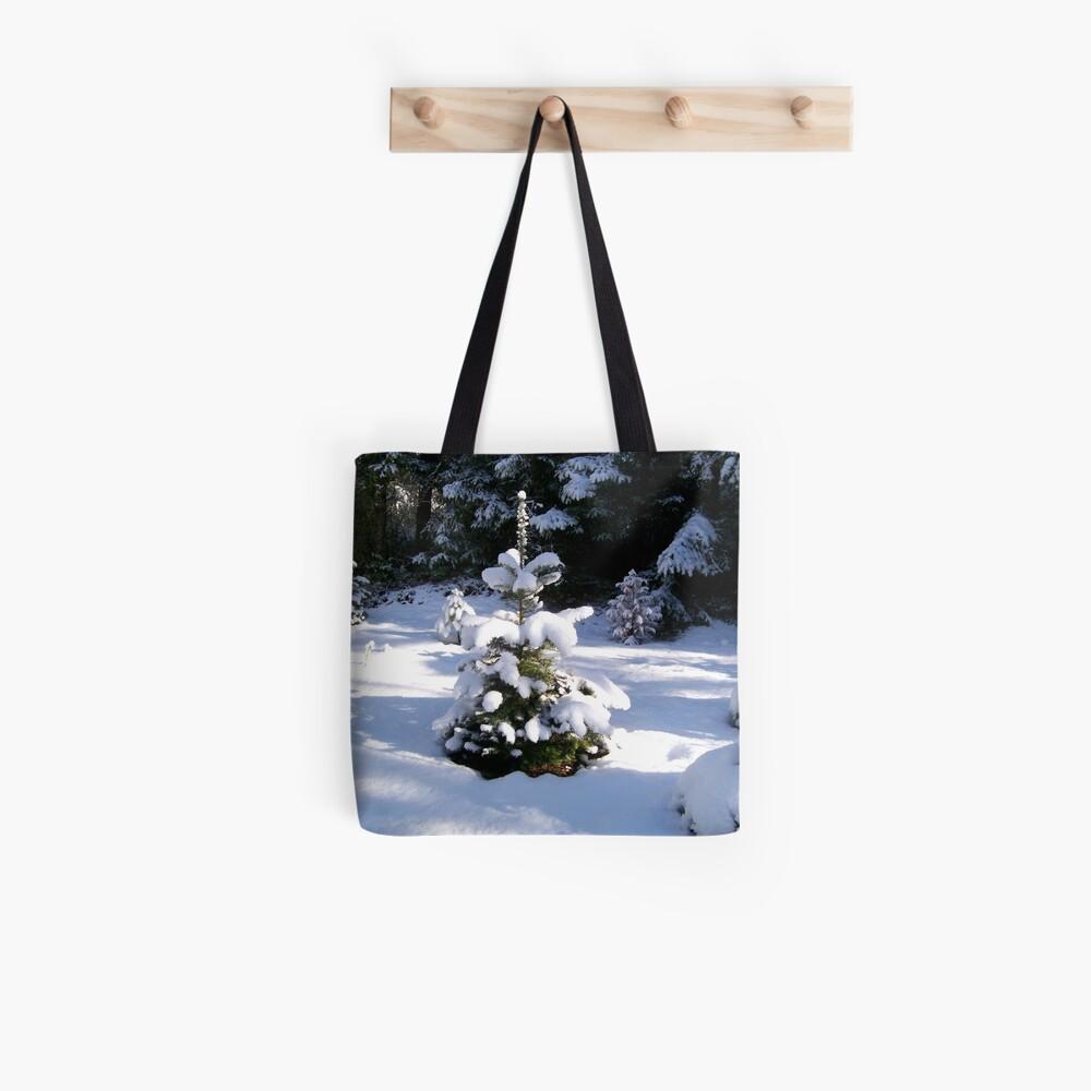 Little Wild Christmas Tree Tote Bag