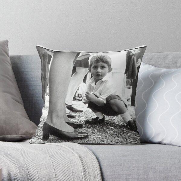 the hidden guest Throw Pillow