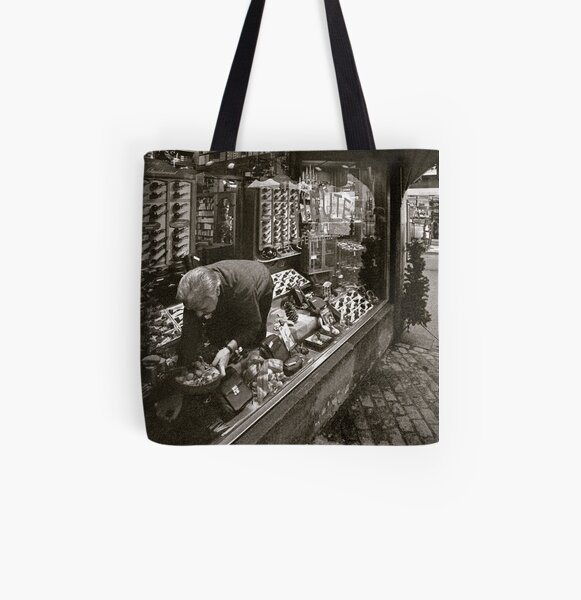 the tobacconist All Over Print Tote Bag