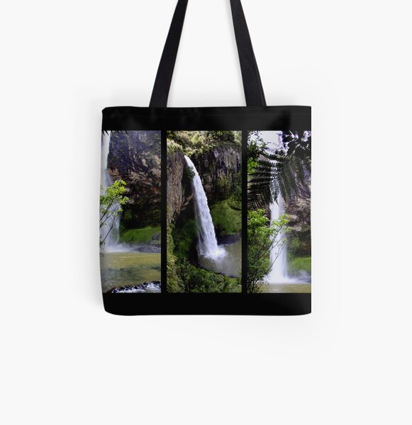 Bridal Veil Falls All Over Print Tote Bag
