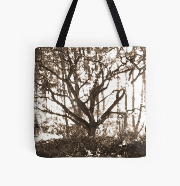Ghost Tree All Over Print Tote Bag