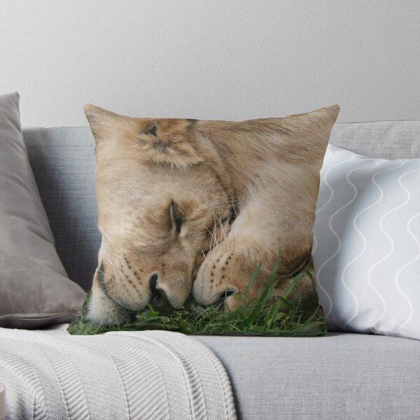 Cub Love Throw Pillow