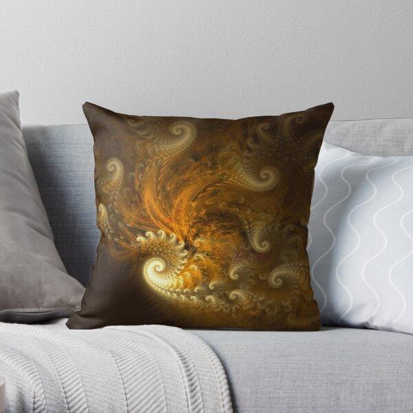 Yellow Opulence Throw Pillow