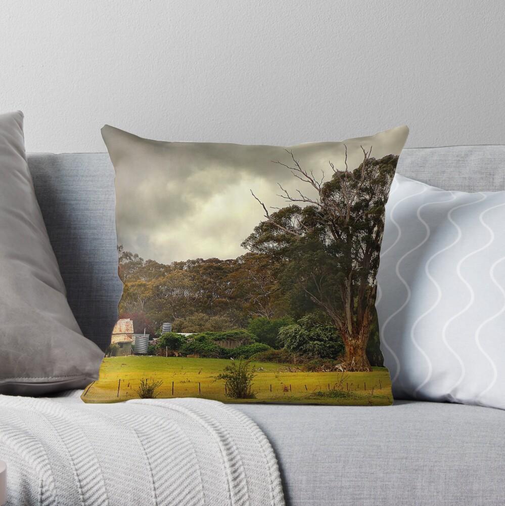Country Farm Throw Pillow