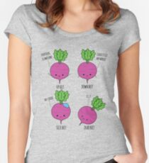 Beet Puns Women's Fitted Scoop T-Shirt