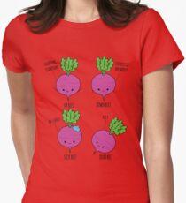 Beet Puns Womens Fitted T-Shirt