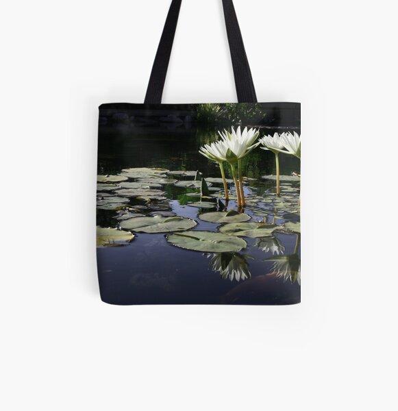 Lilypond All Over Print Tote Bag