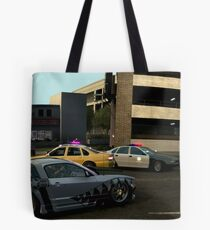 Backing out at the last moment Tote Bag