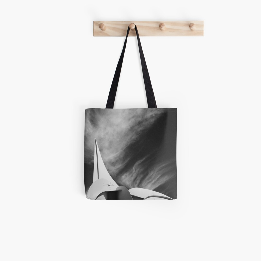 White Fire Tote Bag