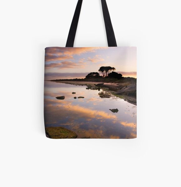 Point Henry Sunrise All Over Print Tote Bag