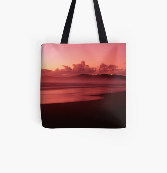 Pinatubo-coloured sunrise All Over Print Tote Bag