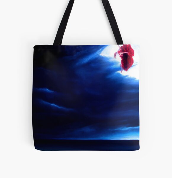Skyfall - oils on canvas All Over Print Tote Bag