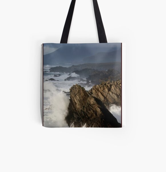 The Atlantic meets Ireland All Over Print Tote Bag