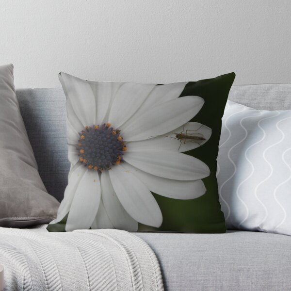 Staying On The Edges Throw Pillow