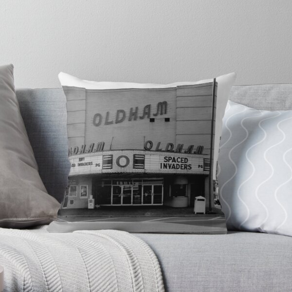 Oldham-Winchester Tennessee Throw Pillow