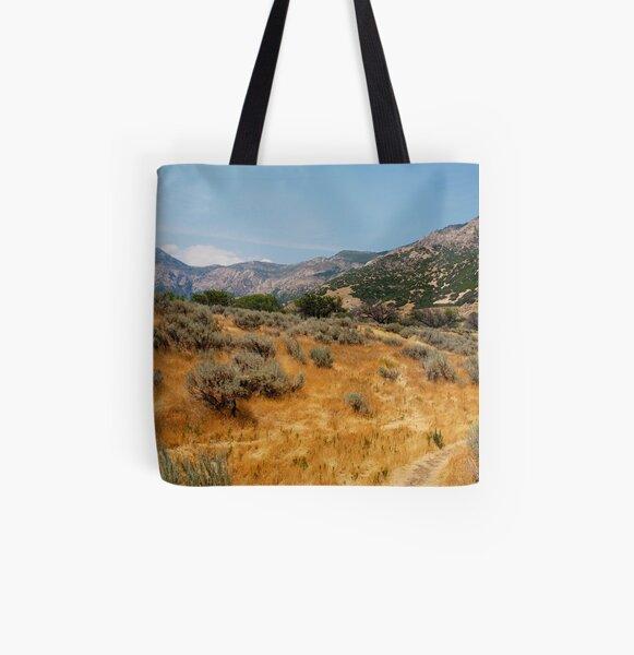 High Summer in Ogden All Over Print Tote Bag