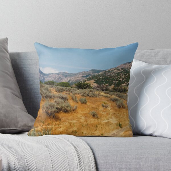 High Summer in Ogden Throw Pillow