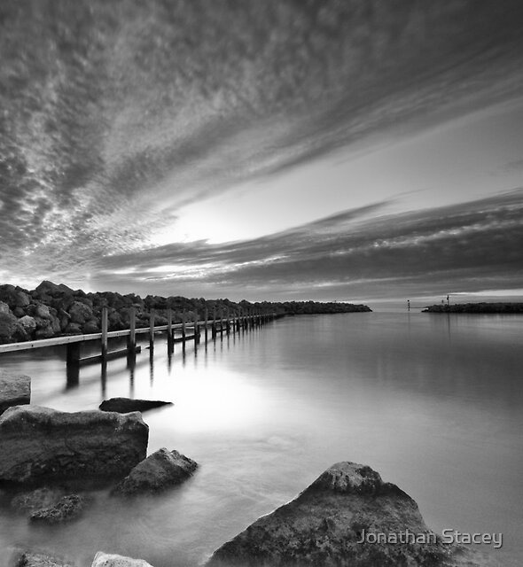 Behind the Harbour Walls II by Jonathan Stacey