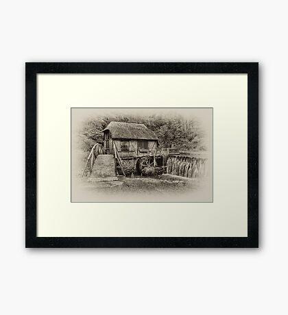 Gomez Mill / Antique  Framed Print