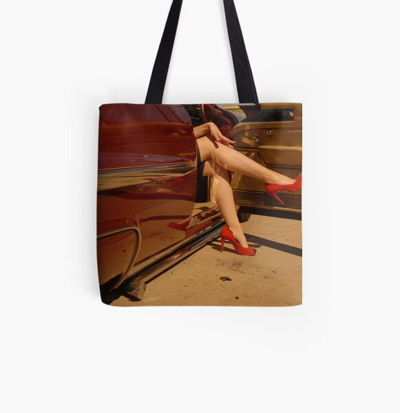 Put your best foot forward All Over Print Tote Bag