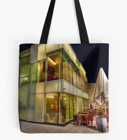 Glass Cafe Tote Bag