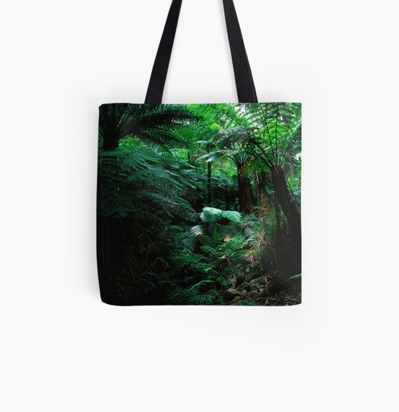 Jungle Cover All Over Print Tote Bag
