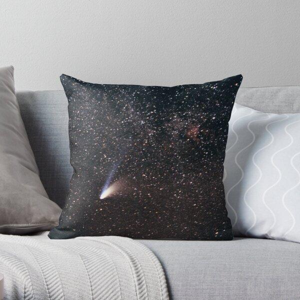 Comet Hale-Bopp Throw Pillow