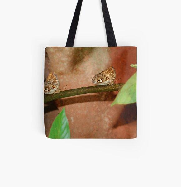 follow me! All Over Print Tote Bag
