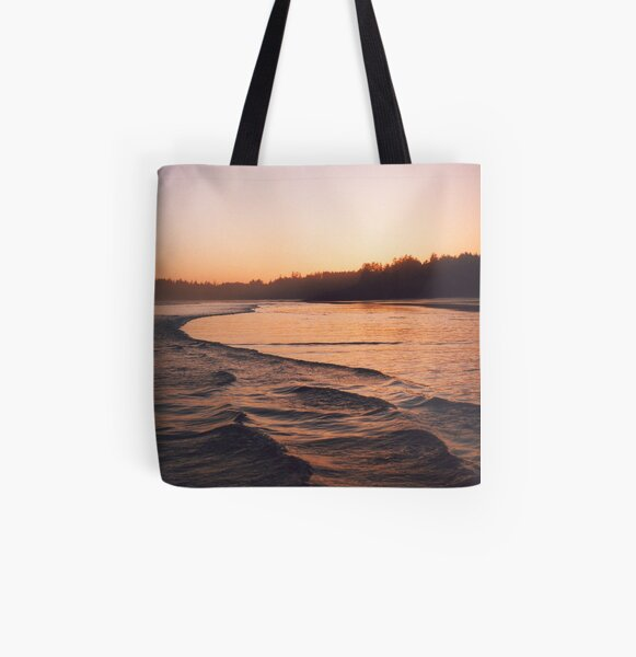 warm dusk All Over Print Tote Bag