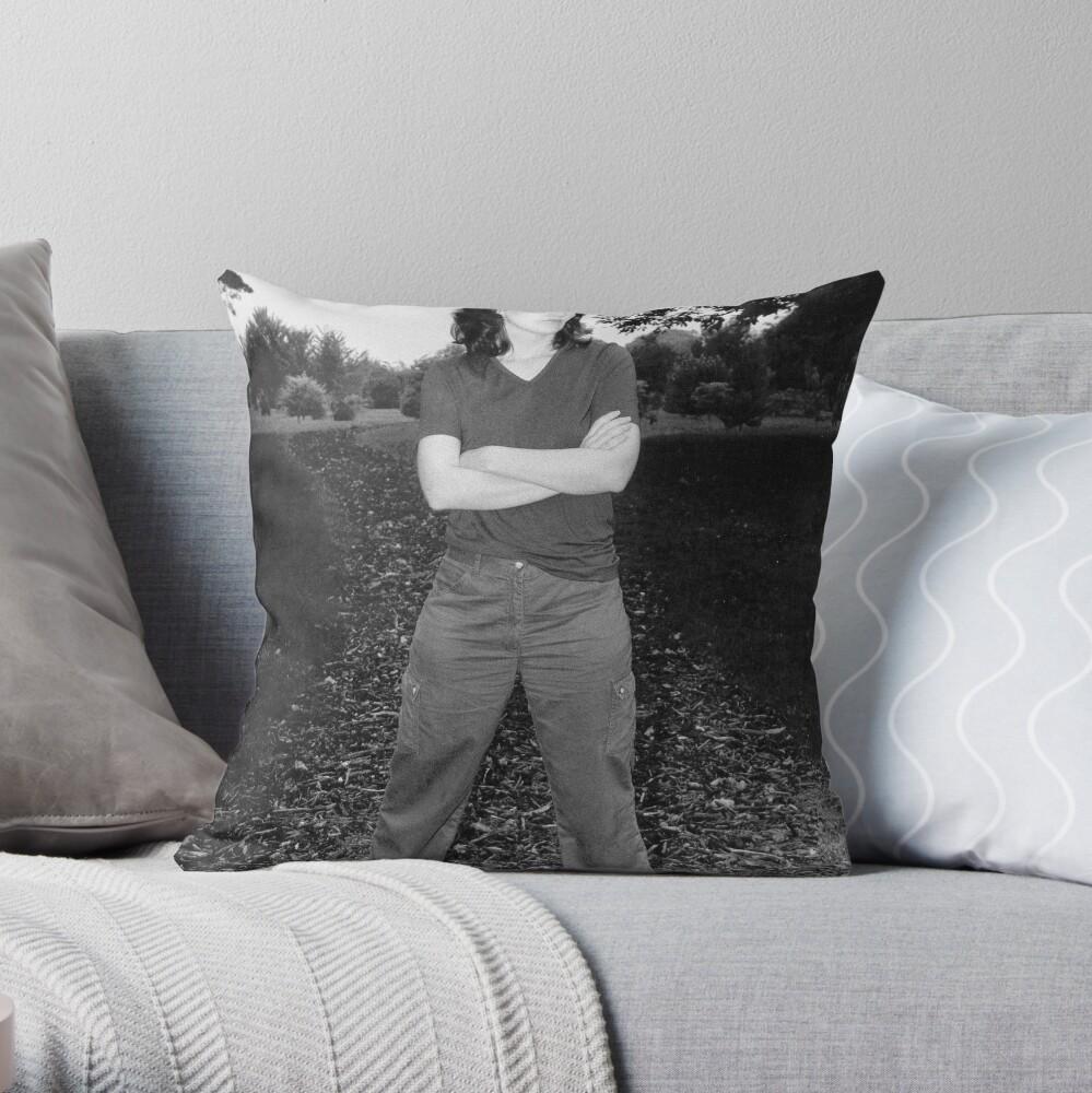 Asskicker Throw Pillow