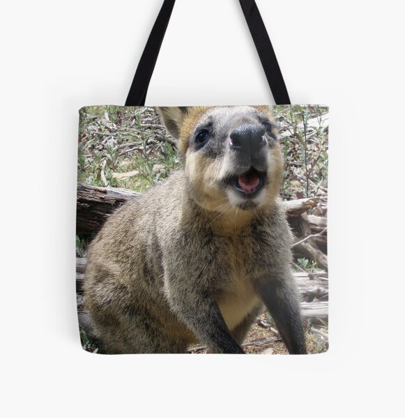 Wallaby Kisses All Over Print Tote Bag