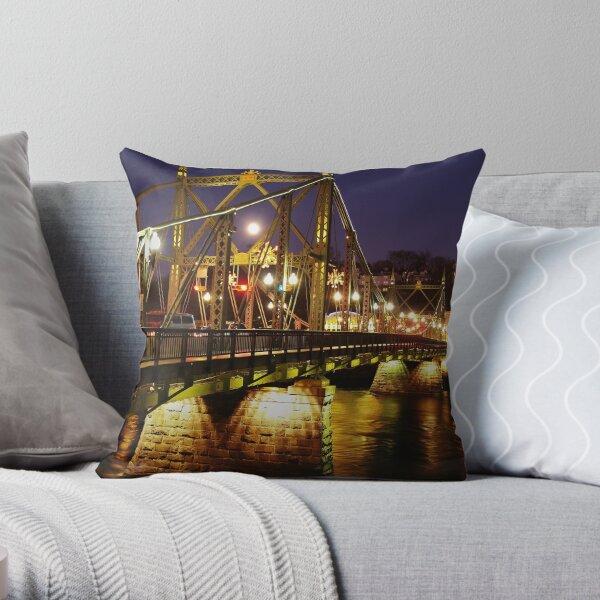 Free Bridge To Phillipsburg Throw Pillow